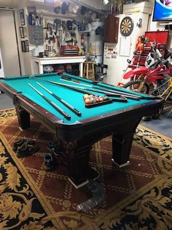 Solo 174 Temecula Beautiful Olhausen Pool Table 4x8 7