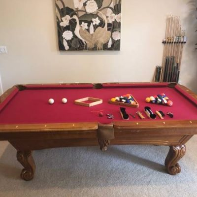 Beautiful Pool Table 7 Ft