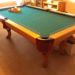 Pool table 1912 Brunswick