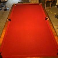 Harley Davidson Pool and Ping Pong Table