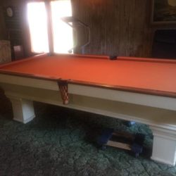 Vintage Pool Table