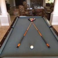 C.L. Bailey Mahogany Pool Table