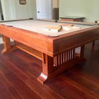 Brunswick Mission Cherry Pool Table