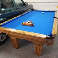 Olhausen Oak Belmont 8ft Pool Table