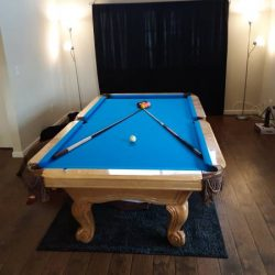 8ft Custom Import Pool Table