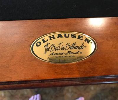 Olhausen 7' Santa Ana Pool Table