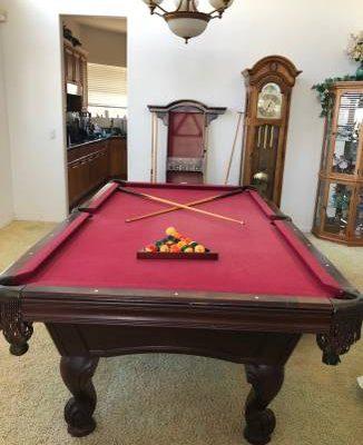 Olhausen Pool Table Set