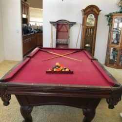 Olhausen Pool Table Set