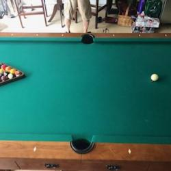 Beautiful Brunswick Pool Table
