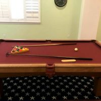 Olhausen Slate Pool table 8' Excellent Condition