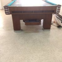 Brunswick 20th Century Pool Table