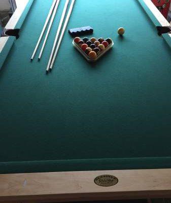 Olhausen Maple Pool Table