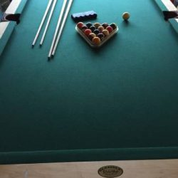 Olhausen Maple Pool Table