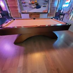 "Olhausen ""Waterfall""Pool table"